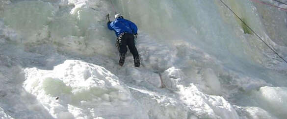 Alpine Ice Climbing